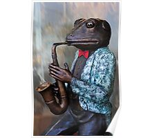 Featuring Mr.Toad on Sax Poster