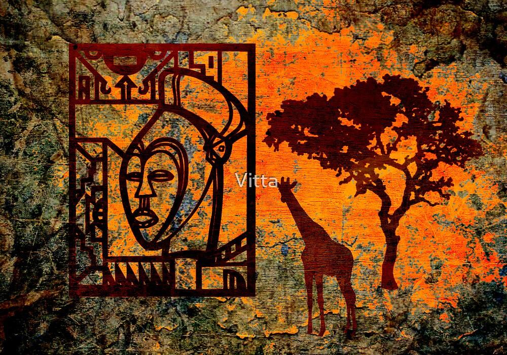 African Art # 2. by Vitta