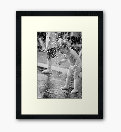 Where Did That Come From? Framed Print