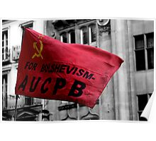 Bolshevism, Whitehall, London 2011 Poster