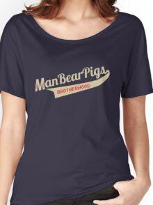Man Bear Pigs Script Women's Relaxed Fit T-Shirt