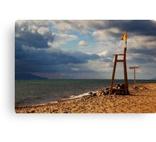 Red Sea Beach Canvas Print