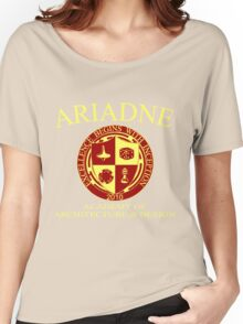 Ariadne Academy of Architecture and Design Women's Relaxed Fit T-Shirt