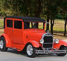1929 Ford Model A Sedan by DaveKoontz