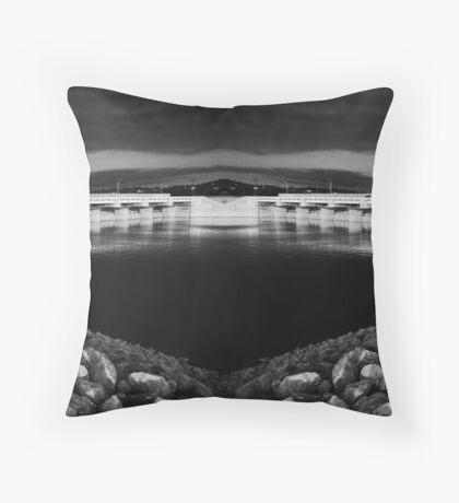 Tablerock Spillway Throw Pillow