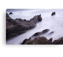 Bantham Bay, Devon Canvas Print