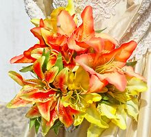 The bride had a lily bouquet by BBrightman