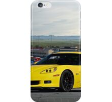 2008 Corvette Z06 'High Road' iPhone Case/Skin
