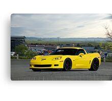 2008 Corvette Z06 'High Road' Canvas Print