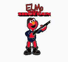 Elmo with a Shotgun Unisex T-Shirt