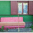 Somewhere to Sit, Mlgravis, Latvia. (2011) by Madeleine Marx-Bentley