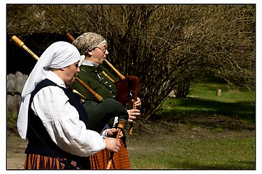 Dūdas Players, Rīga, Latvia. (2011) by Madeleine Marx-Bentley