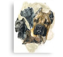 Cane Corso/Ghost Canvas Print