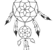 Dream catcher, traditional symbol of Native americans.  by devaleta