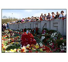 Flowers at the Monument, May 9 (Victory Day) 2011, Rīga, Latvia.  (2011) Photographic Print