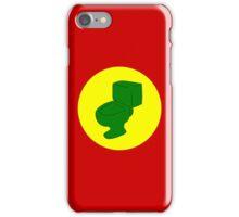 G.I.T.S. - Green Latrine iPhone Case/Skin