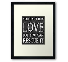 Rescue It Framed Print