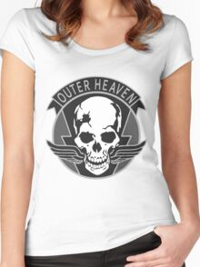 Outer Heaven Women's Fitted Scoop T-Shirt