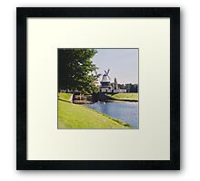 Typical Dutch Landscape Framed Print