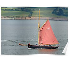 Jolie Brise, Tall Ship, Waterford Harbour, Ireland Poster