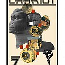 Dada Tarot-The Chariot by Peter Simpson