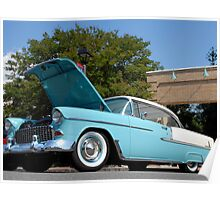 55 Chevy Hardtop Poster