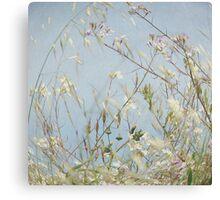 Wild Grass in Wind Canvas Print