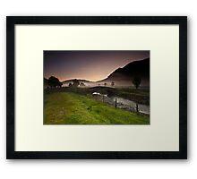 St John's In The Vale Mist Framed Print
