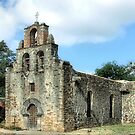 Mission Espada, San Antonio, Texas by SuddenJim