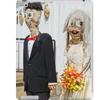 Going to the Chapel- funny wedding couple iPad Case/Skin