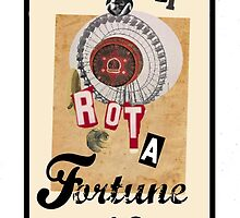 Dada Tarot- Wheel of Fortune by Peter Simpson