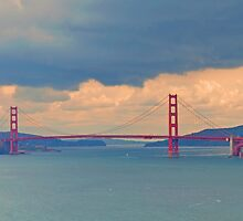 View of Golden Gate Bridge from Lands End by Cathy Jones