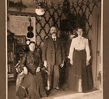 Family Portrait early 1900s by OregonCurly