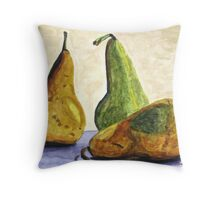 She May Be Sleeping Throw Pillow