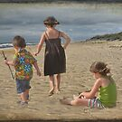 Children at Play by Barbara Manis
