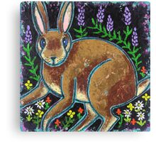Bunny Surprise Canvas Print