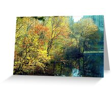 Autumn in Central Park  Greeting Card