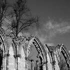 Church Ruins, York, Yorkshire by TeresaMiddleton