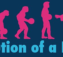 Evolution of a dude pink by Vintagestuff