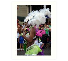 Carnival Costume 2 Art Print