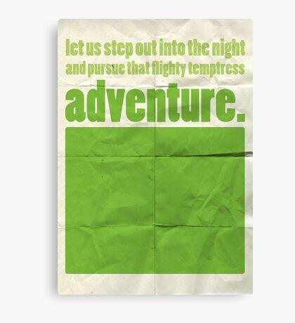 "Dumbledore ""adventure..."" Canvas Print"