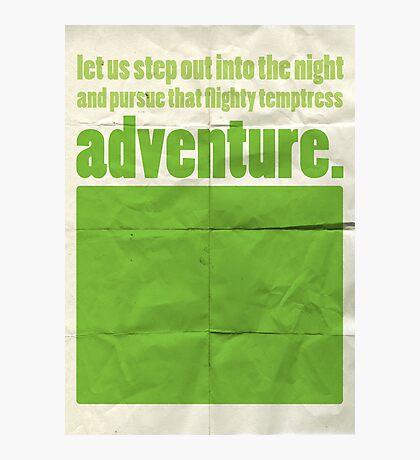 "Dumbledore ""adventure..."" Photographic Print"