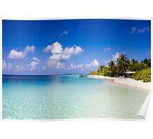 Maldives, Kuramathi island Poster
