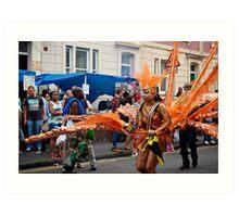 Carnival Costume 5 Art Print