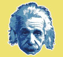 Albert Einstein - Theoretical Physicist - Blue Kids Tee