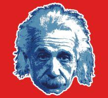 Albert Einstein - Theoretical Physicist - Blue One Piece - Long Sleeve