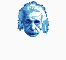 Albert Einstein - Theoretical Physicist - Blue Unisex T-Shirt