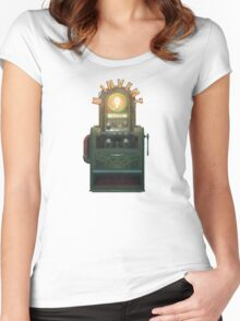 BioShock – U-Invent Machine Women's Fitted Scoop T-Shirt
