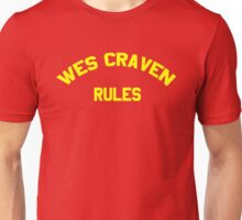 Wes Craven Rules Unisex T-Shirt