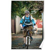 Melburn-Roubaix rider - Corebike Poster